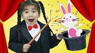 Suri Performs Kids Magic at her Magic Show w/ Funny Toys for Kids