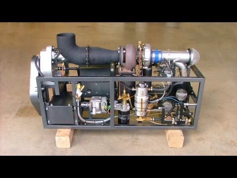 GR-5A Experimental Turboshaft Jet Engine Demo