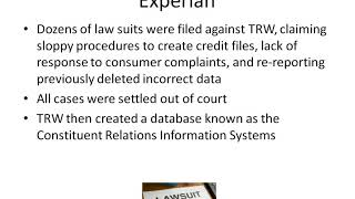 Interesting Facts about Experian