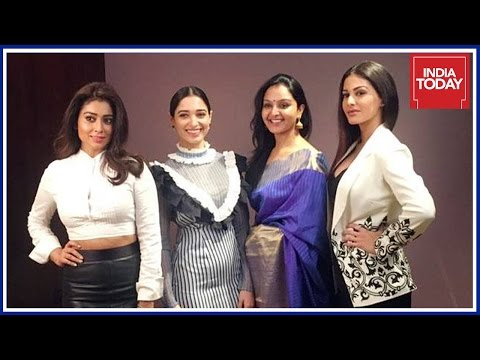 Tamannaah, Shriya Saran, Manju Warrier & Amyra Dastur Exclusive @ India Today South Conclave 2017