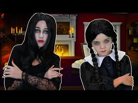 Its The Addams Family!  Finger Family Song  FunPop!
