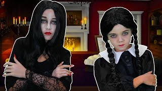 It's The Addams Family! | Finger Family Song | FunPop!