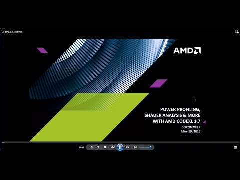Power Profiling, Shader Analysis & More with AMD CodeXL 1.7