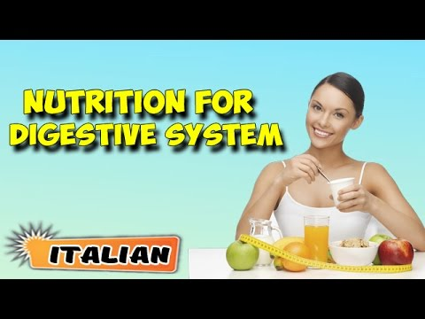 Gestione nutrizionale Per Apparato digerente | Nutritional Management of Digestive System in Italian