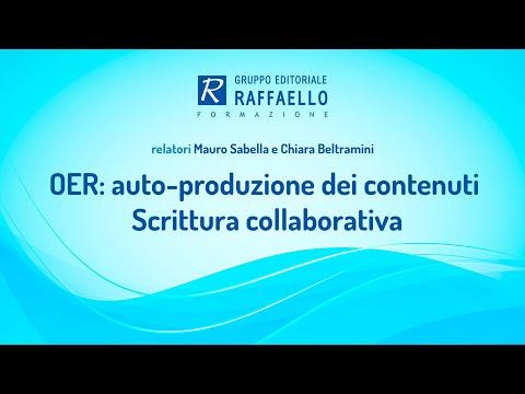 OER: Auto Produzione Dei Contenuti - Scrittura Collaborativa - 4 Dicembre 2017