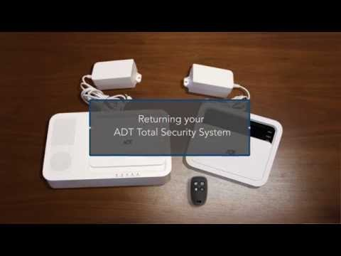 How To: ADT Total Security System Wall Mount Removal & Return Ranger American Alarm System Wiring Diagram Home on