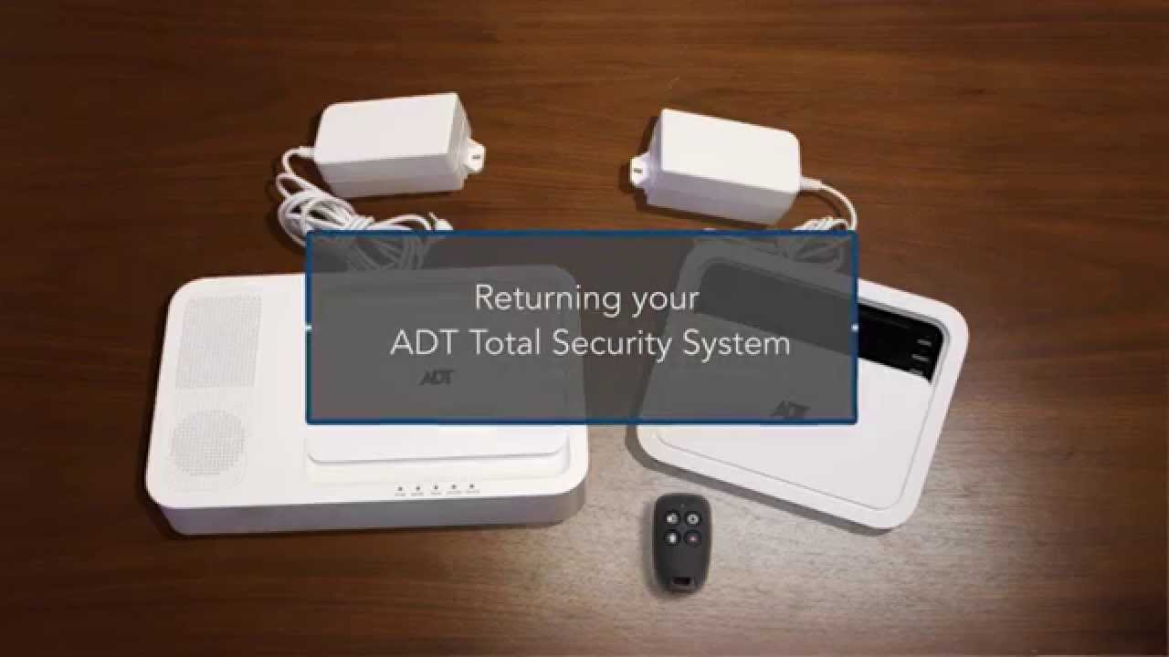 small resolution of how to adt total security system wall mount removal return