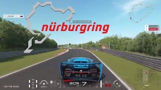 BUGATTI CHIRON Gran Turismo Sport Gameplay on Nurburgring (Fastest car in GT Sport)