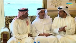 أخبار الإمارات - محمد بن زايد يستقبل وزير الخارجية الإيطالي ويؤكد تطلع الإمارات للتعاون البيني