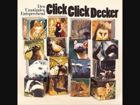 Clickclickdecker - Dialog mit dem Tölpel