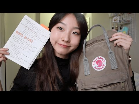 what's in my backpack 2018 ✐ college freshman • diane 다이앤