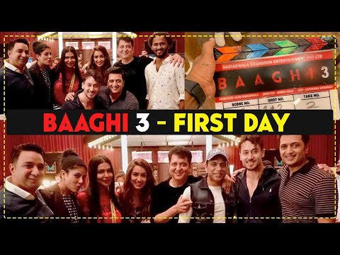 Baaghi 3 First Day Shooting - Tiger Shroff First Scene With Shraddha Kapoor, Riteish Deshmukh Mp3
