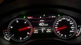 Audi A6 3.0tdi(245hp) 0-100 아우…