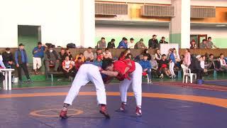 Спорт. Борьба на поясах (классический стиль). Чемпионат Кыргызстана-2021. Mат A Часть 3