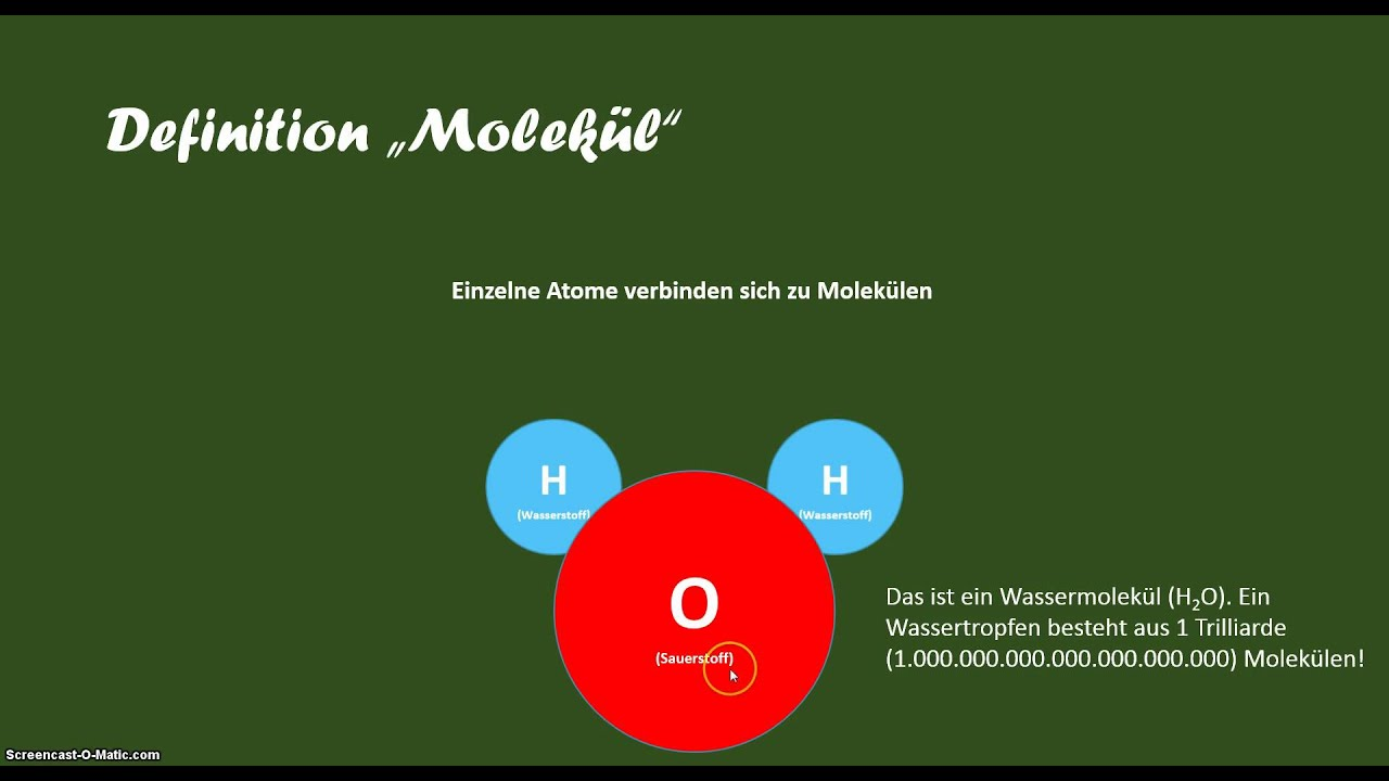 Definition molek l youtube for Was ist boden definition