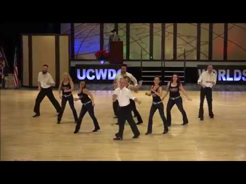 2018 UCWDC Country Dance World Championships - Team Open Line Dance