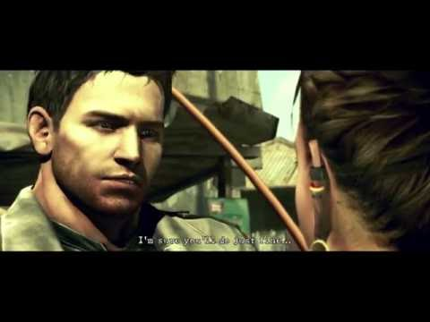 Resident Evil 5 PS4  Chris Redfield Arrives to Meet Sheva Alomar ''Welcome to Africa'' Cut