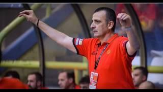 Dragan Raca ,HEAD COACH OF MACEDONIA (FYROM) NATIONAL TEAM