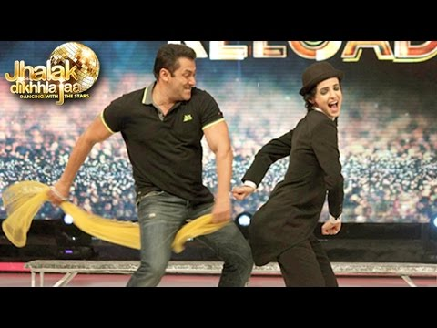 Salman Khan Pics Promoting Hero On Jhalak Dikhlajaa Reloaded