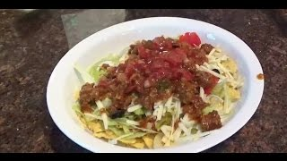 Low Carb Taco Salad  (40 Grams For A Full Plate!!!)