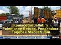 - Video Pengendara Terjebak Macet Lima Jam, di Jalan Palembang-Betung