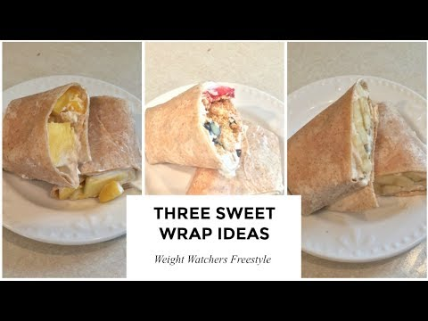 weight-watchers-freestyle-|-three-wraps-for-breakfast-or-dessert