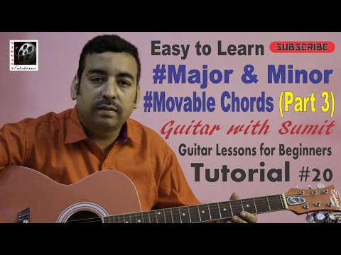 Movable Guitar Chords Part 3 Ii Major And Minor Chords Ii Basic