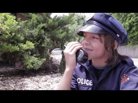 Little Heroes  29 - The Stealer Returns Again, Kid Cops, Power Wheels Kids Police Car & Nerf Guns