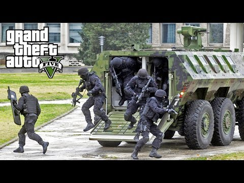 GTA 5 - SWAT Team APC! LSPDFR Play As A Cop Episode #142 (LSPD SWAT Patrol)