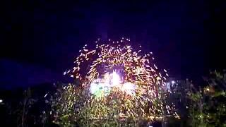 fire dance at kempinski hotel nay pyi taw myanmar