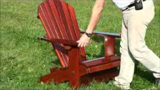 How To Fold And Unfold Your Adirondack Chair