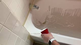 How To Recast/Refinish A Tub (With Ekopel 2K) Will NOT Work With Thinner Knock Offs! (Step 4)