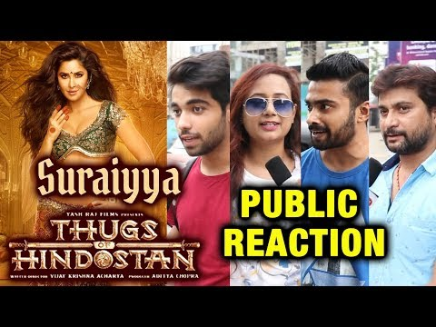 Thugs Of Hindostan SURAIYYA First Look | Katrina Kaif | PUBLIC REACTION