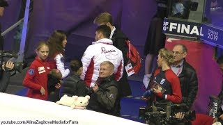 Alina Zagitova GP Final 2019 FULL Practice FS Cleopatra