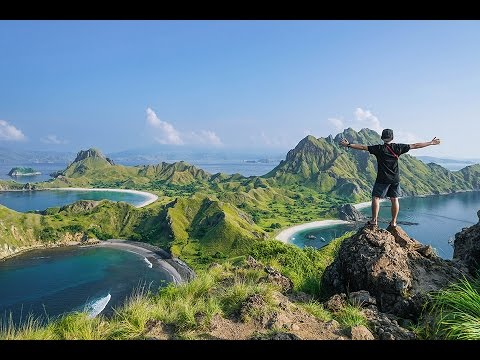 Flores island in 2 minutes (Indonesia)