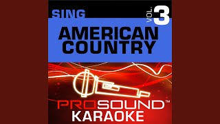 A Lot Of Things Different (Karaoke Lead Vocal Demo) (In the Style of Kenny Chesney)