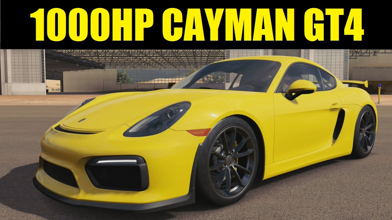 1000hp porsche cayman gt4 forza horizon 3 gameplay youtube. Black Bedroom Furniture Sets. Home Design Ideas