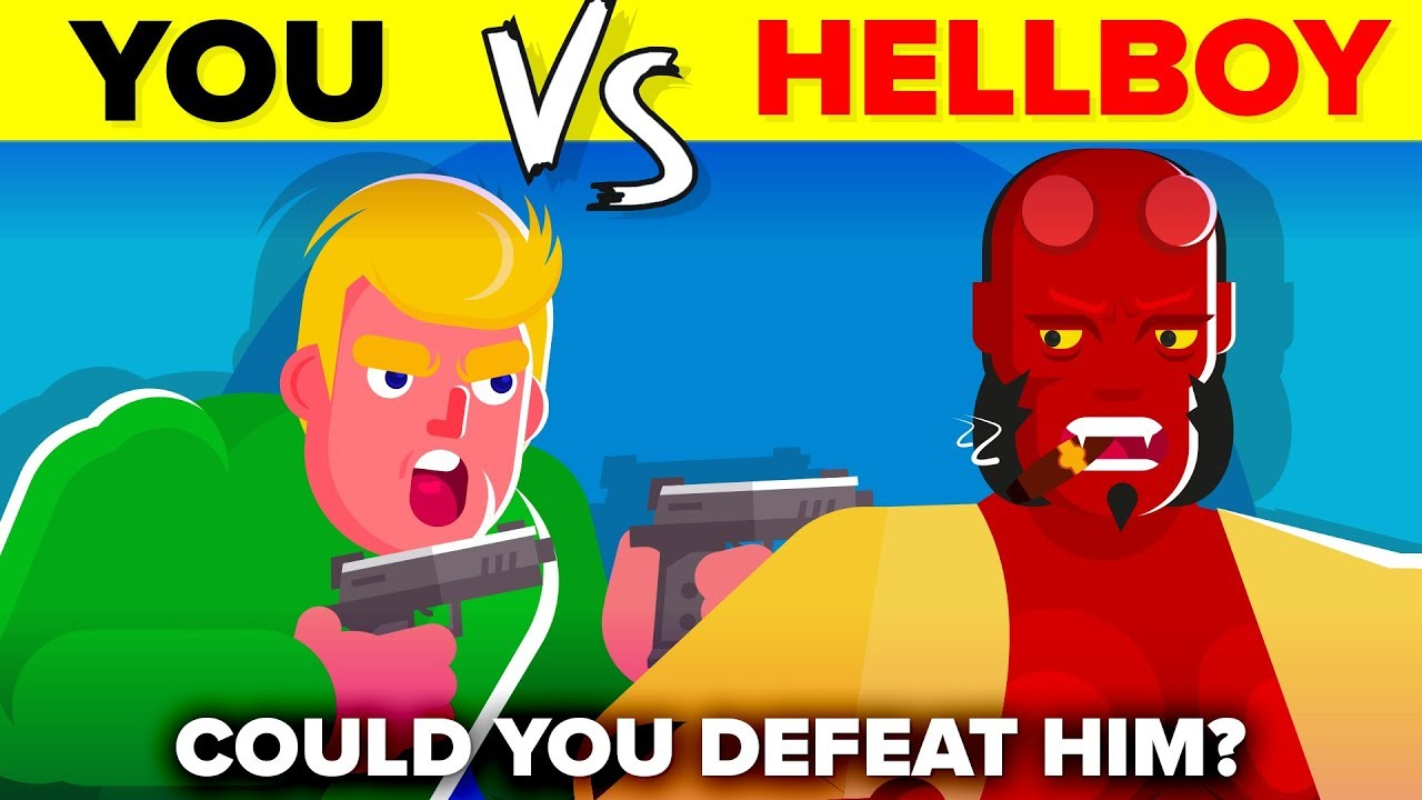 YOU vs HELLBOY - How Could You Defeat and Survive It (Hellboy 2019 Movie)