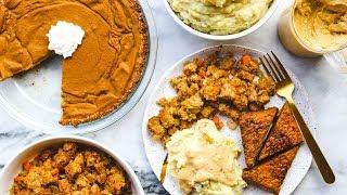 Video Easy Vegan Thanksgiving Dinner in Under 2 HOURS! 🦃 download MP3, 3GP, MP4, WEBM, AVI, FLV November 2017