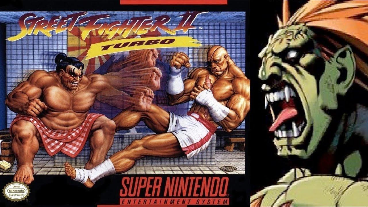 Street Fighter Ii Turbo Hyper Fighting Blanka Snes Youtube