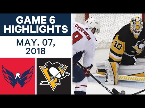 NHL Highlights | Capitals vs. Penguins, Game 6 - May 07, 2018