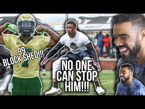 The 1 Linebacker In High School Is UNSTOPPABLE  Owen Pappoe Highlights Reaction