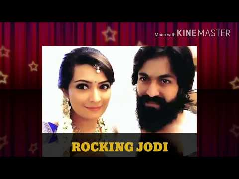 Ninn lajje ondu sangeethdante ninn hejje thaal/Rocking jodi/Yash/Radhika Pandit