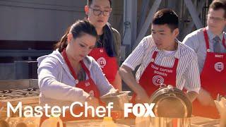 The Contestants Start A Fried Food Challenge | Season 9 Ep. 6 | MASTERCHEF