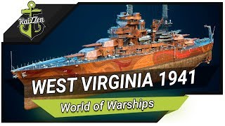 Линкор West Virginia 1941 - Всё это уже было - Обзор