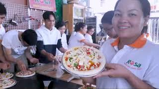 Học Làm Bánh Pizza Tại Dạy Nghề Rosa