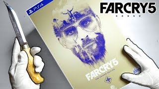 "FAR CRY 5 ""FATHER"" COLLECTOR'S EDITION UNBOXING! (Sold Out) PS4 Limited + PC Gameplay"