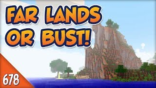 Minecraft Far Lands or Bust - #678 - Mystery Mobile