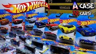 Unboxing Hot Wheels 2018 A Case 72 Car Assortment!