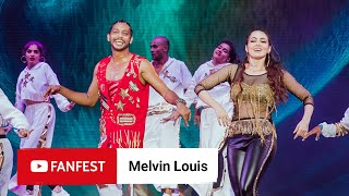 Melvin Louis @ YouTube FanFest Mumbai 2019 -